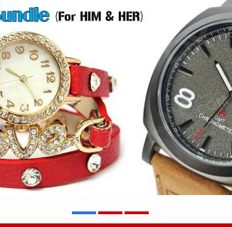 Watches Bundle For HIM And HER   Online Shopping in ...